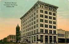 Georgia, GA, Athens, Southern Mutual Insurance Building 1912 Postcard