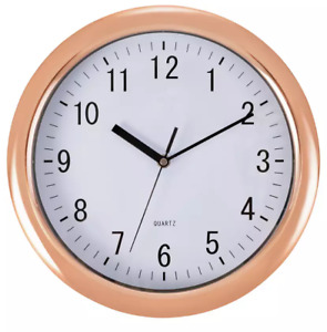 Home Wall Clock - Rose Gold/78549+6985