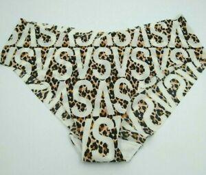 Victoria's Secret Women's Hiphugger Hipster Panties XL Animal Print VS Logo