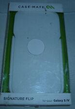 Case-Mate Signature Flip Case for Samsung Galaxy S4 - White