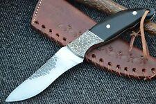"HUNTEX Custom Handmade Hand-Forged Japanese 440c Steel 9"" Long Hunting Knife"