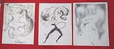 HENRY MAHE- LOT DE 3 LITHOS 25 X 31 A RAFRAICHIR- VOIR PHOTOS-