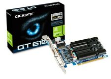 GIGABYTE GEFORCE GT 610 Gaming Graphics Video Card 2GB DDR3 - HDMI PCI-E DVI