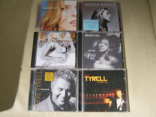 6x Jazz Singers - Steve Tyrell - Diana Krall - Natalie Cole - Ann Malcolm