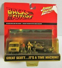 "New ListingJohnny Lightning ""Back To The Future"" 2 Car Set DeLorean"