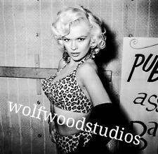 "Busty Jayne Mansfield 8.5x11/"" Photo Print Bosom Sensual Movie Star Sex Symbol"