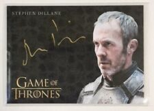 Stephen Dillane Gold Autograph from Game of Thrones Inflexions Extremely Limited