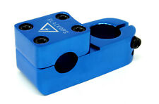Black Ops BrickTop BMX Bike Top Loader Stem 55mm 22.2 Blue