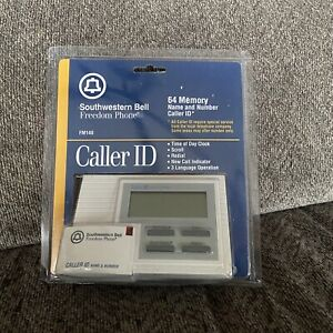 Southwestern Bell 64 Memory Caller ID Clock 3 Language New Old Stock Sealed