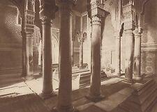 G1400 Maroc - Marrakech - Les tombeaux des Chérifs Saadiens - 1937 vintage print