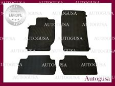NEW GENUINE OEM LHD RUBBER CAR MATS FOR MITSUBISHI L200 2007-2014 MK4 CARPETS