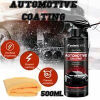 9H 500ml Shine Armor Ceramic Spray Car Polish Spray Coat Quick Nano Coating AU