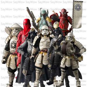 "7""Japanese Action Figure New WIth box Star Wars Ronin Movie Realization Samurai"