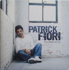 "PATRICK FIORI - CD PROMO 14 TITRES ""SI ON CHANTAIT PLUS FORT"""