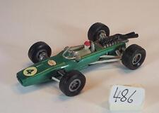 MAJORETTE 1/65 n. 228 BRM f1 RACER VERDE METALLIZZATO numero 4 esso #486