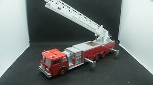 CONRAD #5509 - City of Miami Fire Rescue Aerial Ladder Truck 1:43