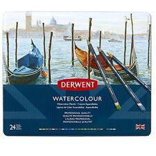 Derwent Watercolour Confezione da 24 Matite colorate idrosolubili in scatol Jrbo