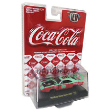 M2 MACHINES 52500 COCA COLA COKE 1969 DODGE CHARGER DAYTONA 1/64 #86 Red Card