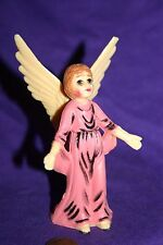 "Angel Vintage Ornament 4 1/2"" Plastic"