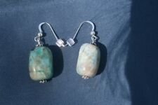 Ajoite and Papagoite Earrings helps one speak with clarity 4796