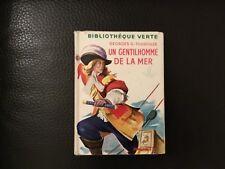G.G TOUDOUZE Un gentilhomme de la mer Bibliothèque verte 272 jaquette