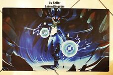 Custom Yugioh Playmat Play Mat Large Mouse Pad Pokemon Lucario #625