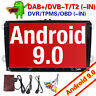 "9""DAB+Autoradio Android 9.0 For Passat Golf 5/6 Polo V6R Scirocco Skoda Seat GPS"