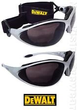 Dewalt Framework Smoke Padded Safety Glasses Goggles Sunglasses Z87+
