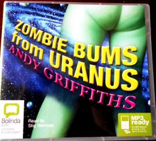 ZOMBIE BUMS FROM URANUS BY ANDY GRIFFITHS - MP3 READY CHILDREN'S AUDIO CD