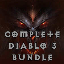 Diablo 3 RoS PS4 - [SOFTCORE & HARDCORE] - Complete Bundle! - Read Listing!