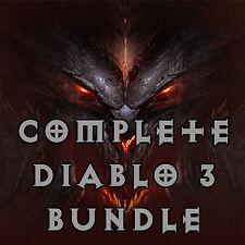 DIABLO 3 ROS PS4 - [ softcore & HARDCORE ] - Completa Bundle! - LEGGERE INSERZIONE!
