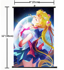 Anime Sailor Moon Crystal Wall Scroll Home Decor Poster Cosplay Gift 1370