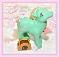 ❤️My Little Pony G1 VTG Player Dance 'n Prance Green Guitar Disco Tail Spins❤️