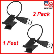 Replacement USB Charger Charging Cable for Fitbit Alta with Reset Button 2-Pack
