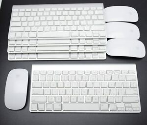 Apple Wireless Keyboard A1314 and Magic Mouse A1296 Combo Original. TESTED