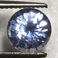Natural 1.14 Carat 6.3mm Round Blue Sapphire Genuine Loose Gemstone Ceylon Gem