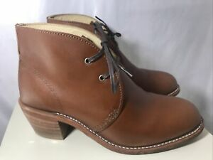 Red Wing Shoes Women's Heritage Chukka Boots Lillian Brown Leather Lace Up 8M