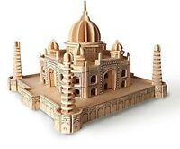 Taj Mahal: Woodcraft Quay Construction Wooden 3D Model Kit P210 Age 7 plus