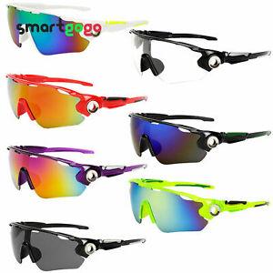 Men's Outdoor Goggles Driving Sport Cycling UV400 Sunglasses Eyewear BSG