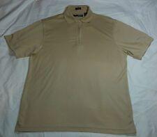 John Henry Ultra Feel Zip Up Polo Shirt Size: Small