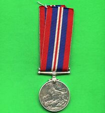 Canada WW2 1939 1945 Silver Medal With Ribbon