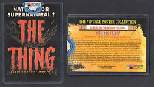 VINTAGE POSTER COLLECTION SCi-FI HORROR (Breygent 2007) Case Card #CT1 THE THING