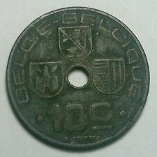 BELGIUM 1944 10 CENTIMES coin