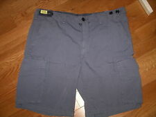 POLO RALPH LAUREN Med Blue Classic Fit Casual FLAT Shorts 40T Tall Man - NWT