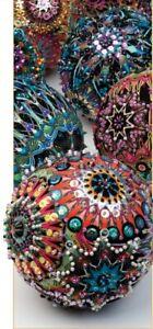 Kismet by Paula Nadelstern for Benartex ~ 2 panels of Patternista for Ornaments