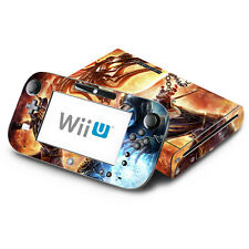 Skin Decal Cover for Nintendo Wii U Console & GamePad - Mortal Combat