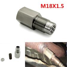 Car Check Engine Light Fix Catalytic Mesh Oxygen O2 Sensor Spacer Adapter Bung