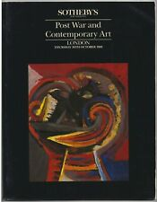 Sotheby's Auction Catalogue - Post War and Contemporary Art - London 26 Oct 1989