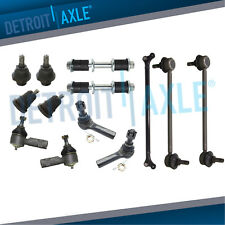 Inner Outer Tie Rod + Sway Bars + Ball Joint for 2000 2001 2002 2003 2004 Xterra