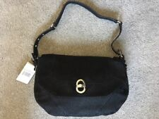 NEW AIMEE KESTENBERG Rocco Shoulder bag Leather BlackLizrd Embosd $258 DUSTBAG